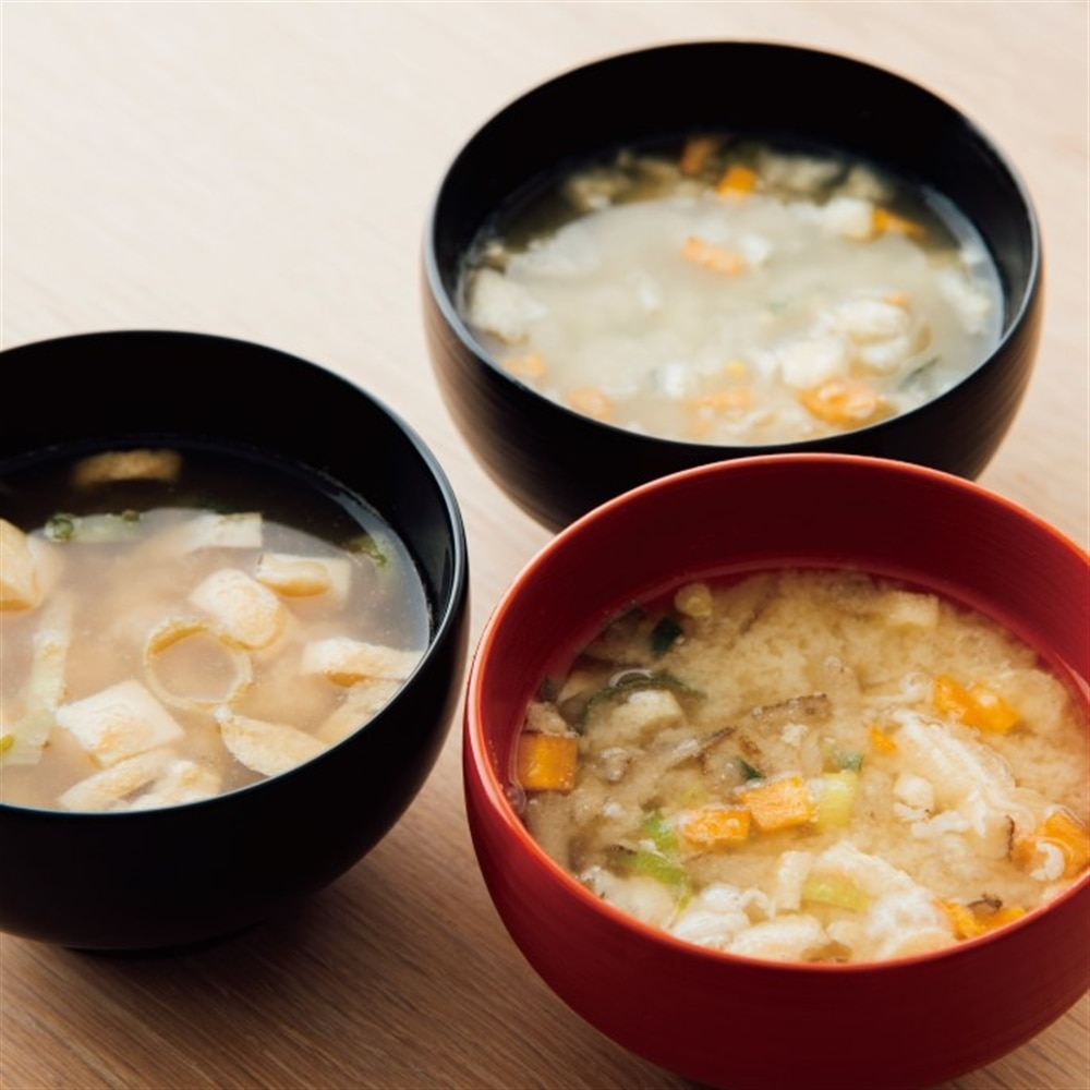 Authentic miso soup now available freeze-dried!